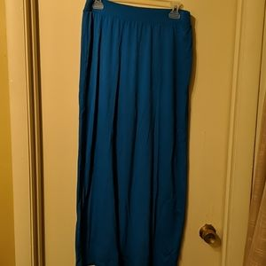 Old Navy Blue Maxi Skirt